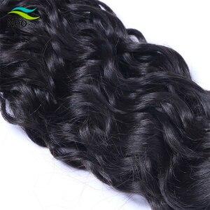 Image 5 - Neobeauty Birmanischen Reines Haar natürliche welle haar bundles haar verlängerung