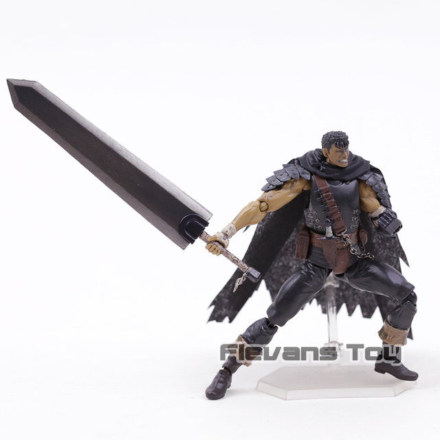 Figma 359 Berserk Guts Black Swordsman Ver Repaint Edition PVC Action Figure Collectible Model Toy 5