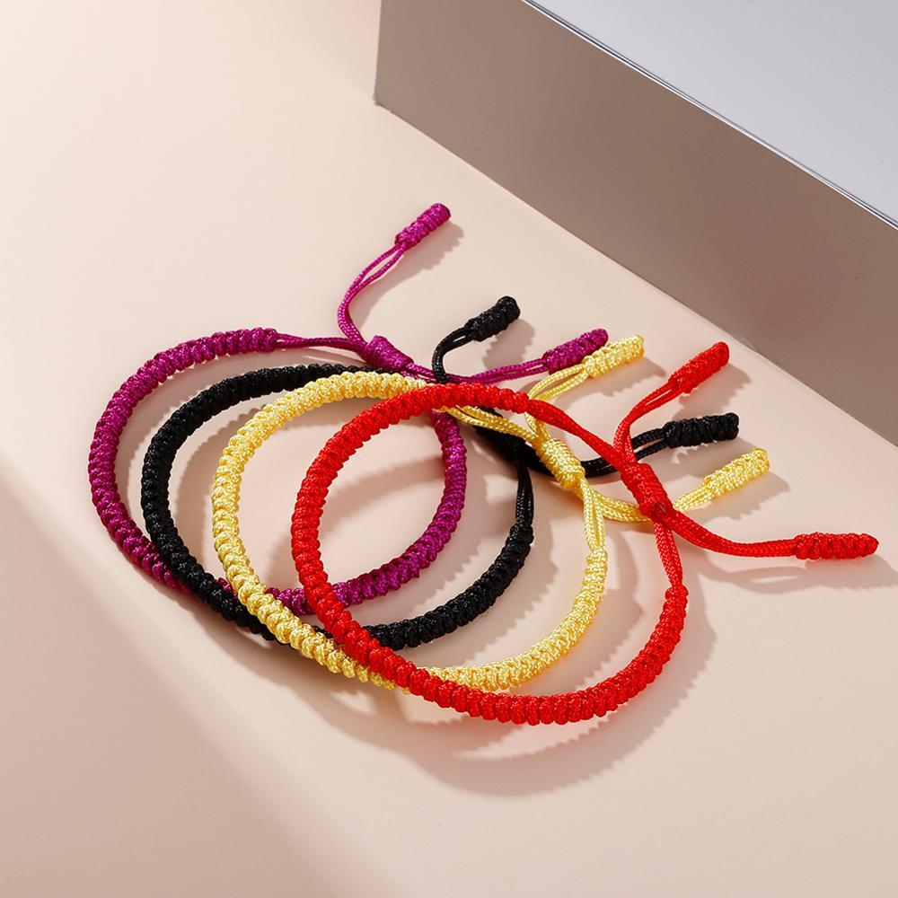 Braided Thread Wrap Bracelet Best Friend Adjustable Rope Bracelets for Men Women Vintage Charm Wristbands Sisters Jewelry New
