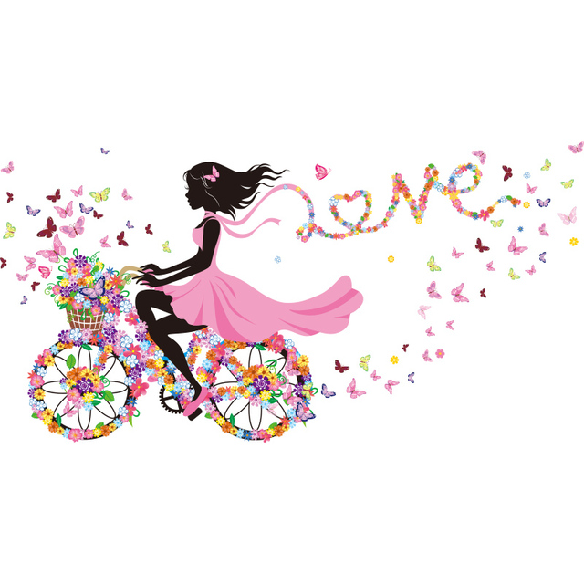 Fairy Girl On A Bike 4