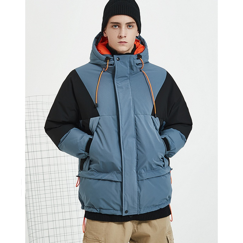 Super Quality Winter Duck   Down   Parkas Men Casual Outwear   Down   Jackets Male Thick   Down     Coat   Fashion Puffer Jacket JK-808
