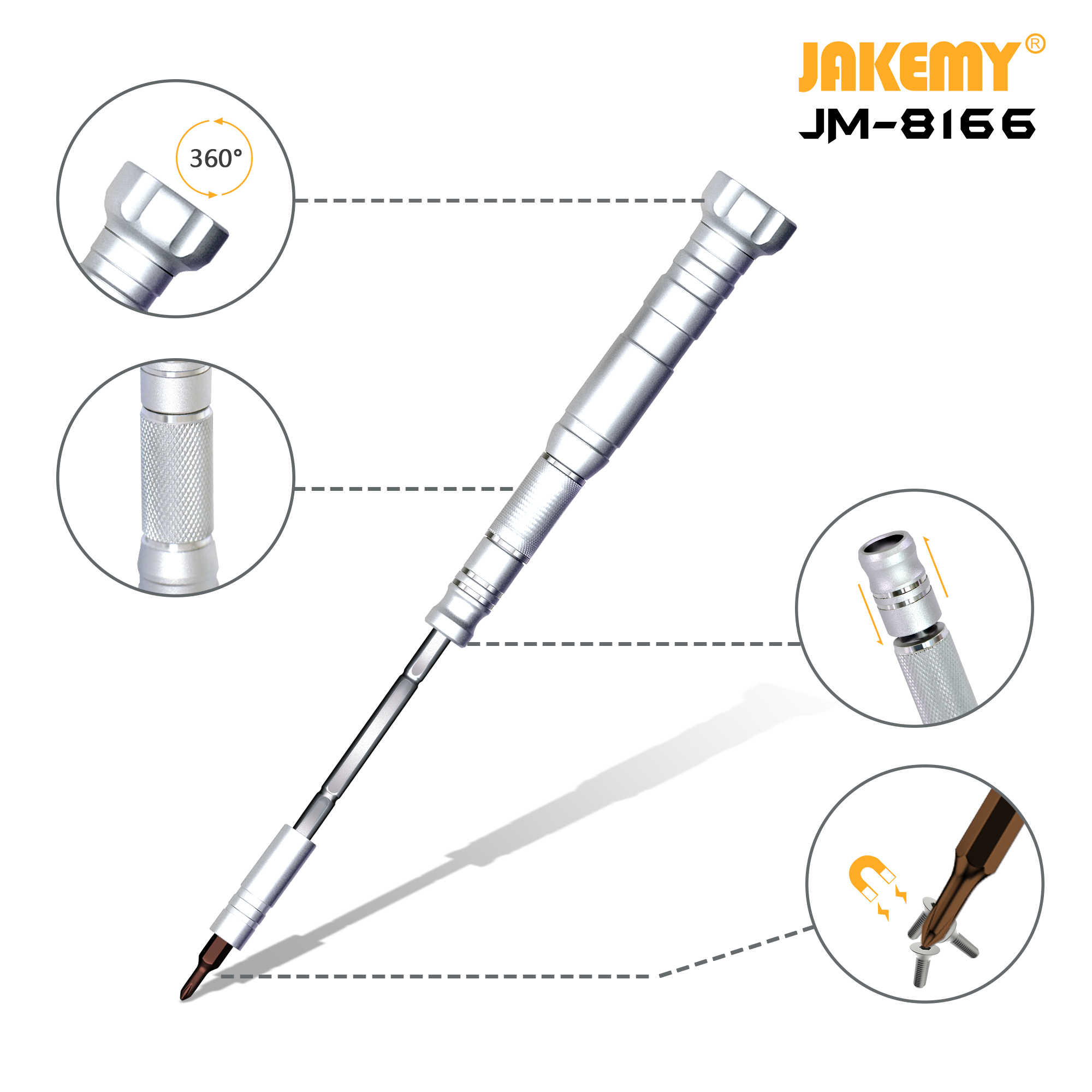 Wholesale mobile phone disassemble tool repair kit 61-in-1 portable precision screwdriver set with extended rod multi-probe scre