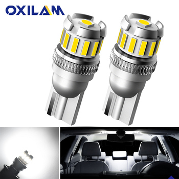 OXILAM 2x Canbus T10 W5W LED Bulb Car Interior Door Lights For Mercedes Benz W203 W211 W221 W204 W205 C E SLK GLK CLS M GL LED image
