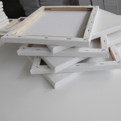 Pure Cotton Large Specification White Canvas Watercolor Propylene Inner Frame Hand-painted Diy Oil Frame Can Be Customized