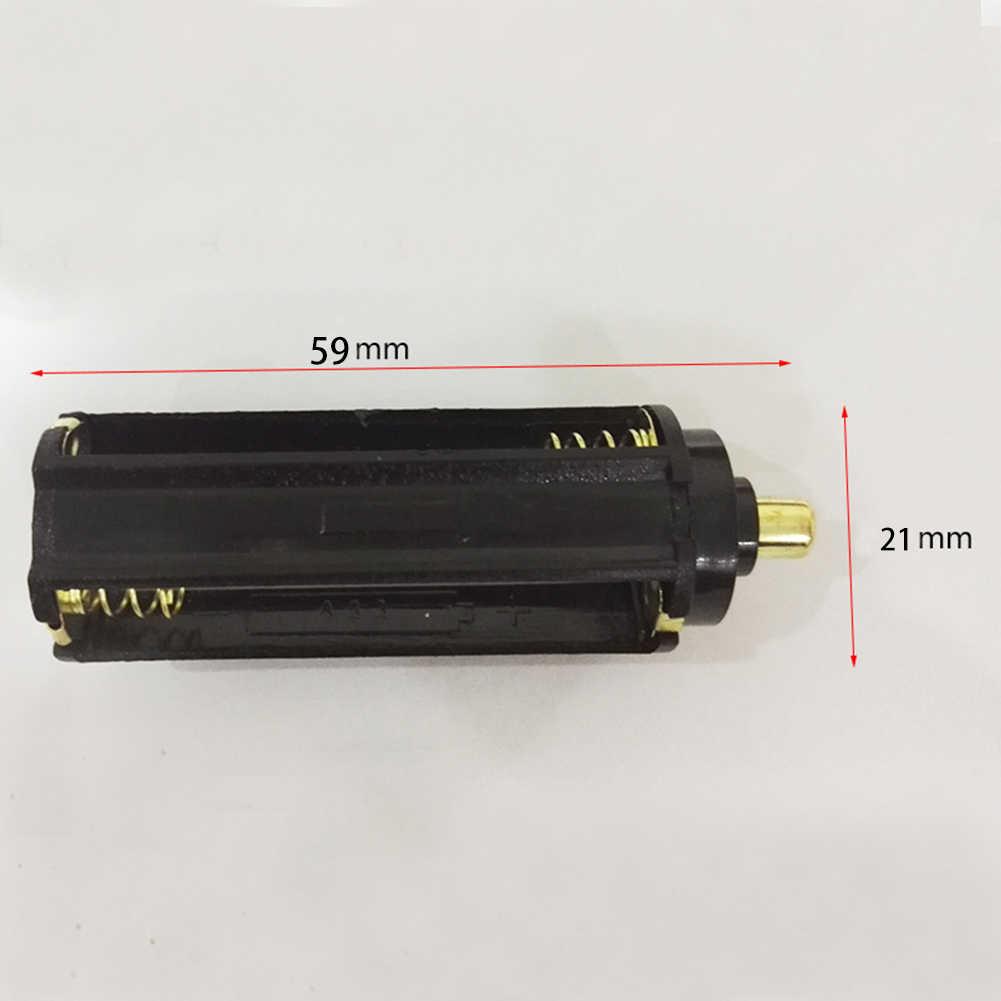 Support de pile aaa 18650 batterie TubeBlack cylindrique boîte en plastique adaptateur boîtier convertisseur adaptateur piles commutateur en gros
