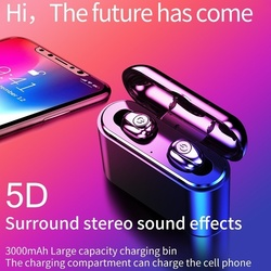 X8 portable wireless Bluetooth headset for Huawei Samsung Android mobile phone charging hands-free calling 5D stereo  for huawei