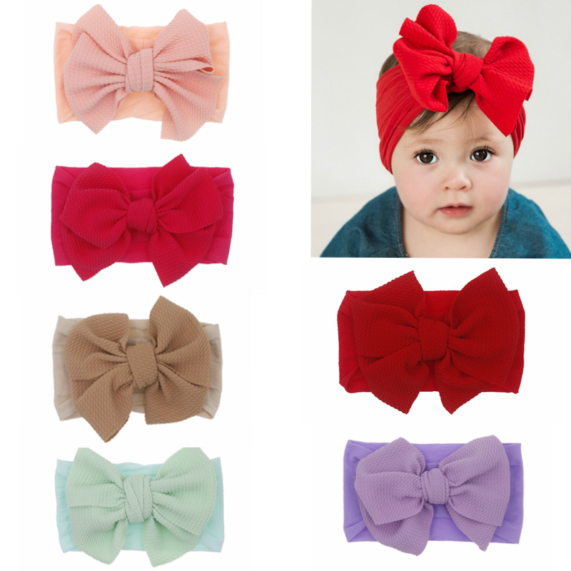 Women Spring Autumn Headband Fashion Red Cross Knot Elastic Hair Bands Soft Bow Girls Hairband Hair Accessories,Burgundy,China,One Size