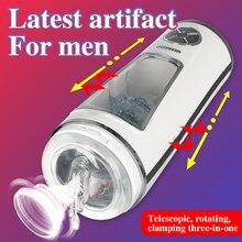 Male Vibrating Masturbator Strong Suck Powerful Automatic Fast Speed Masturbator Cup Stimulating Sex Toys for Men Sex Machine