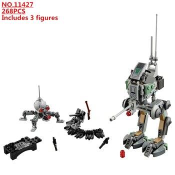 цена на Star Wars Clone Scout Walker 20th Anniversary Edition Building Blocks Model Bricks Classic For Children Toys Gift 2020 NEW