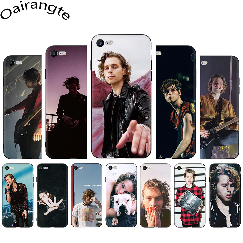 Luke Hemmings Soft Silicone Phone case for iphone 5 5s SE 6 6s 7 8 ...