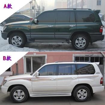 цена на Car sticker For Toyota Land Cruiser LC100 2007 body color bar Land Cruiser 4500 4700 exterior decoration sticker decal