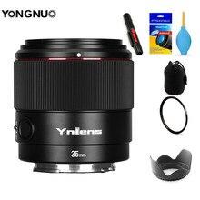 YONGNUO YN35mm F2S YN85mm DF DSM YN50mm Auto Focus Large Aperture Camera Lens for Sony E mount A7II A6600 A6500 A7RII III IV A7C