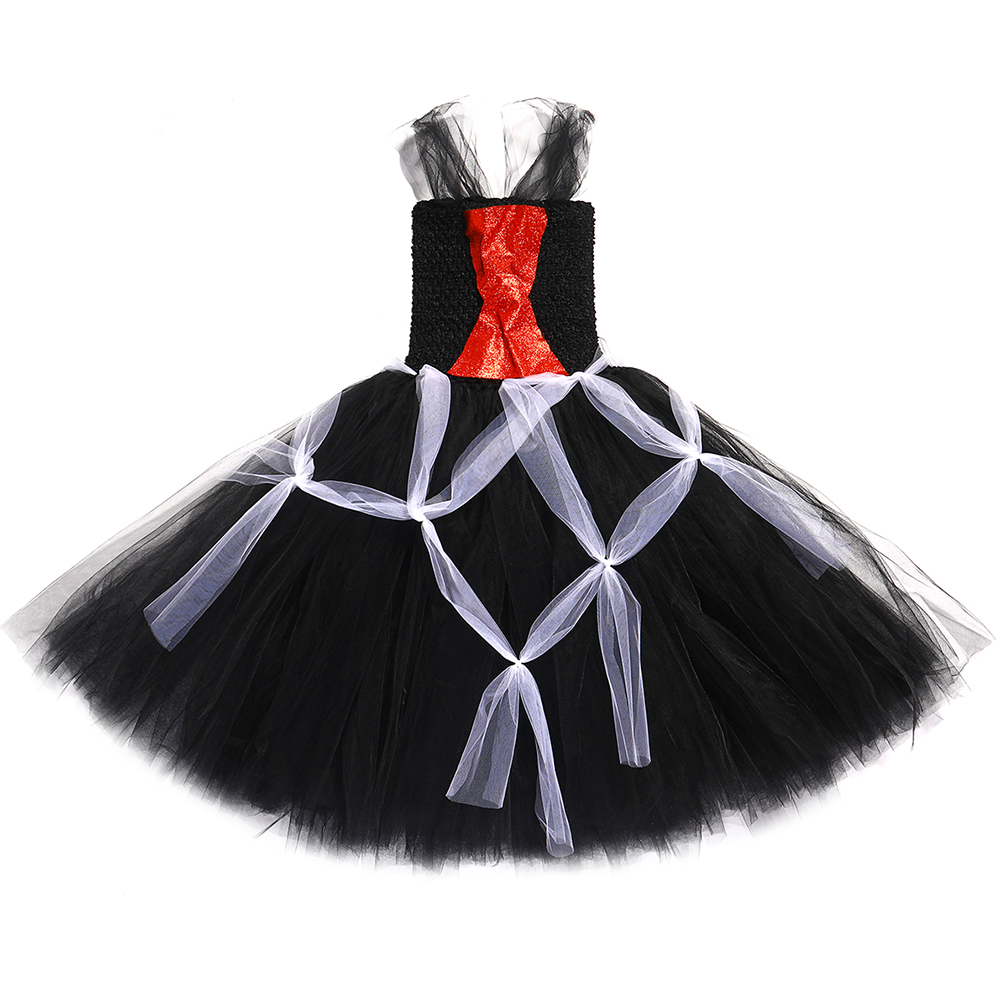 black party bat//web dress costume 7-8 years New Girls dress up multi
