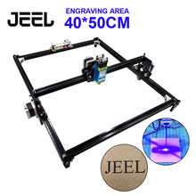 500mw CNC Laser Engraving machine 40*50cm 2Axis DC 12V DIY Wood Router Laser Cutter /Printer/+Laser Goggle
