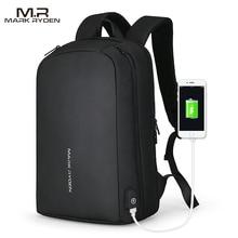 Mark Ryden hommes sac à dos multifonction USB recharge peut sadapter 15.6 pouces ordinateur portable sacs à dos décontractés pour homme