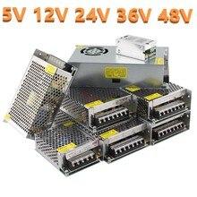 AC-DC 5V 12V 24V 36V 48V Schalt Netzteil Transformator 220V ZU 5V 12V 24V 1A 2A 3A 5A 6A 8A 10A 15A 20A 25A 30A 40A 50A 60A