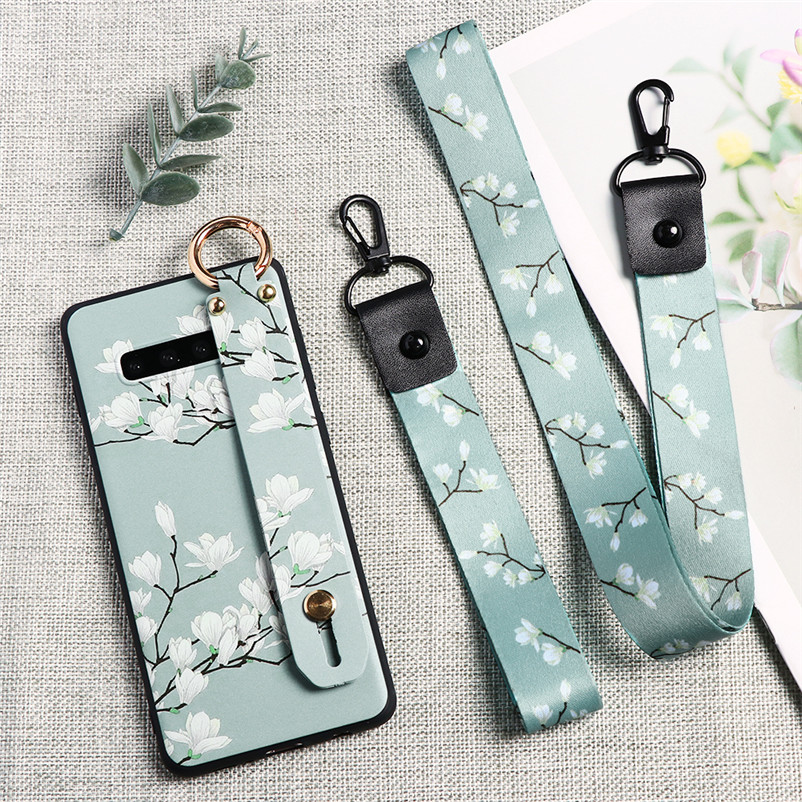 Lanyard Case For Samsung Galaxy S8 S9 S10 S20 Plus S10E Ultra A10 A10E A10S A20 A20E A20S A30 A40 A50 A60 A70 A51 A71 TPU Cover