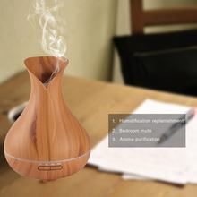 Ultrasonic Aroma Diffuser Mist Maker Compact Air Humidifier for Household Use Great Home Decor with LED Colorful Light 301(China)
