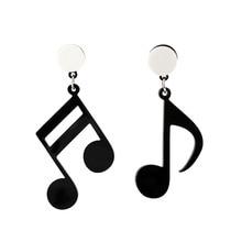 2019 Rushed New Aros Earing Brinco Character Acrylic Earring Notes Interesting Cartoon Fashion Joker Asymmetric Eardrop Sale
