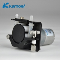 Kamoer KCS mini peristaltic pump 24V electric water pump with high percision peristaltic dosing pump with 24V dc motor