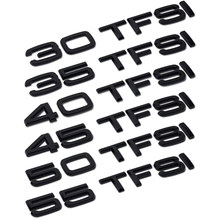 Para Audi A3 A4 A5 A6 A7 A8 C5 C6 C7 C8 B4 B5 B6 B7 B8 B9 Q4 Q5 Q6 Q7 Q8 Tronco Traseiro Bagagem 55 50 45 40 35 30 TFSI Etiqueta Do Logotipo