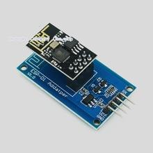 1個ESP8266 ESP 01シリアル無線lanワイヤレスアダプタモジュール3.3v 5v Esp01ブレイクアウトpcbアダプタ