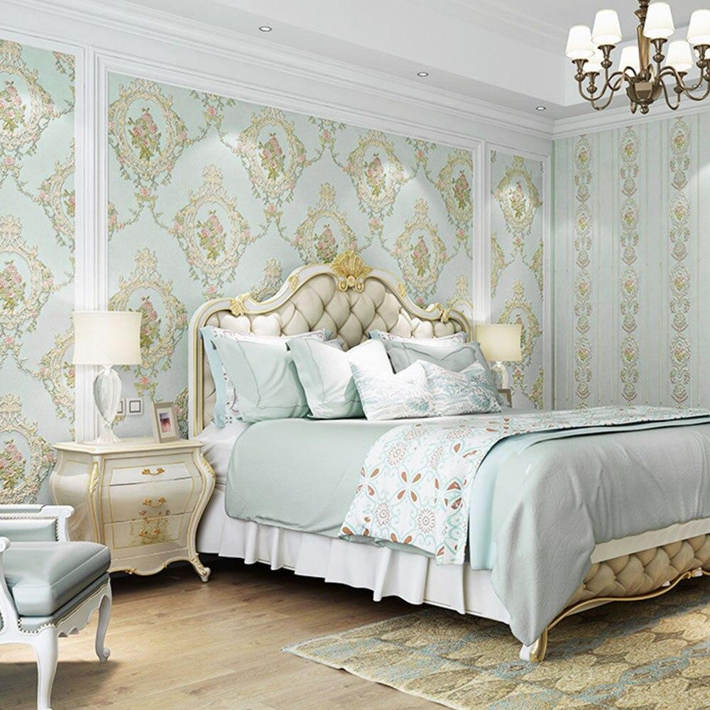 Новый дизайн цветок обои спальня ТВ фон обои настенные декоративные наклейки для дома в помещении настенная декоративная наклейка
