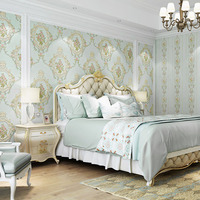 New Design Flower Wallpaper Bedroom TV Background Wallpaper Wall Stickers Decoration for Home Indoor Wall Sticker Decor