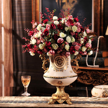 Creative household ceramic vase European gift handicraft