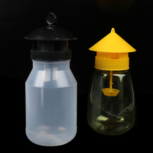 1 PCS Wasp Trap Fruit Fly Flies Insect Bug Hanging Honey-Trap Catcher Killer No-Poison Hanging Tree Pest Control Tool