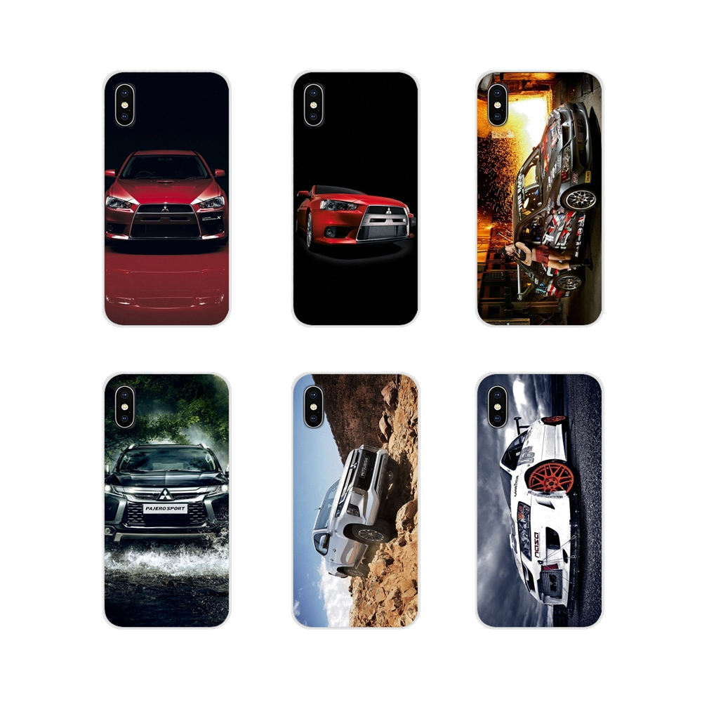 Mitsubishi Motors Accessories Phone Shell Covers For Huawei Nova 2 3 2i 3i Y6 Y7 Y9 Prime Pro GR3 GR5 2017 2018 2019 Y5II Y6II