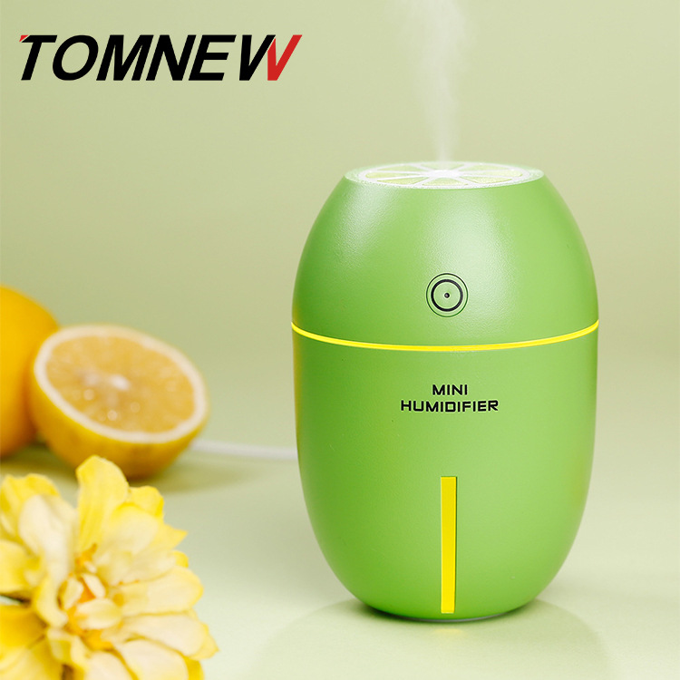Lemon Humidifier Colorful Night Light Household Air Humidifier Lemon Humidifier Creative USB Mini Humidifier