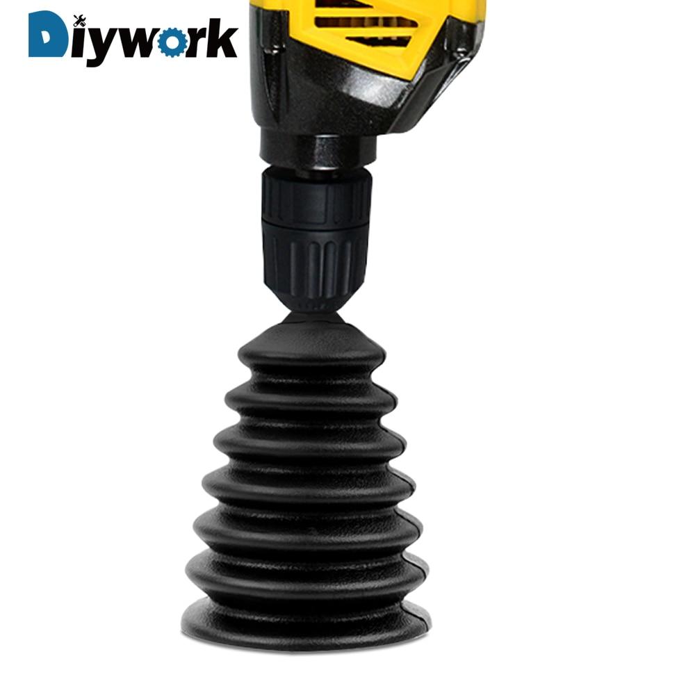 DIYWORK Electric Hammer Drill Dust Collector Drill Dust Collector Rubber Dust Cover 1 Piece Electric Drill Dremel