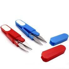 Cutter Scissor Diy-Supplies-Tool Embroidery Thread U-Shape Cross-Stitch 1pcs Safety-Cover