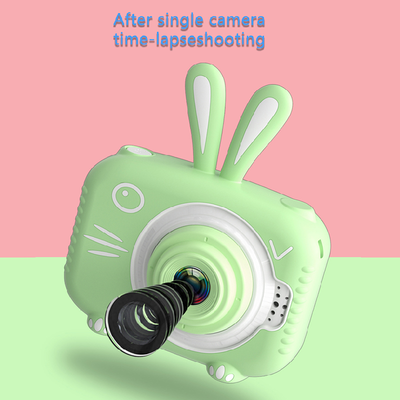детский фотоаппарат в виде зайки