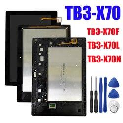 Для Lenovo Tab 3 10 Plus ZA0Y ZA0X TB3-X70L TB3-X70F TB3-X70N TB3-X70 ЖК-дисплей сенсорный экран дигитайзер в сборе + Инструменты