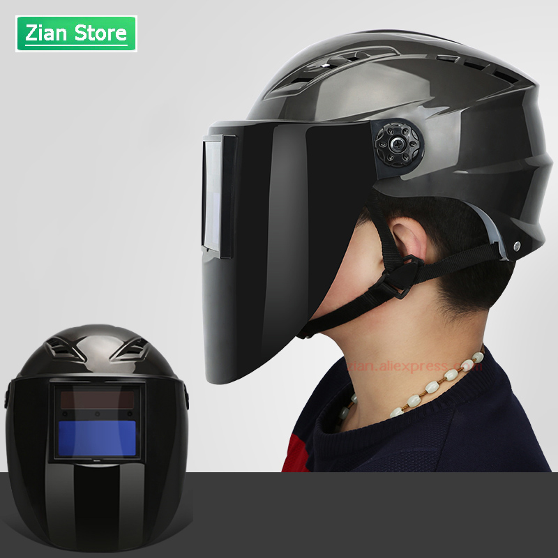 ABS Automatic Photoelectric Welding Mask Helmet Hard Hat Welding Lens Anti-mite Protection Eye Model 8899/5588 Safety Helmet