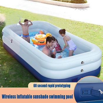 Inflatable Swimming Pools For Family Children's Inflation Pool Baby Ocean Ball Sand Pool Bath Toys swimming pools above ground dark pools