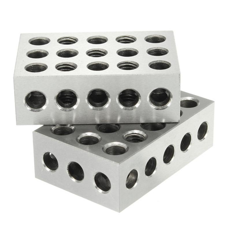 23 furos paralelos de aperto bloco torno