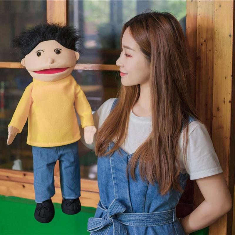 Cute Abdominal Hand Puppet Hand Puppet Fantoche Doll  1
