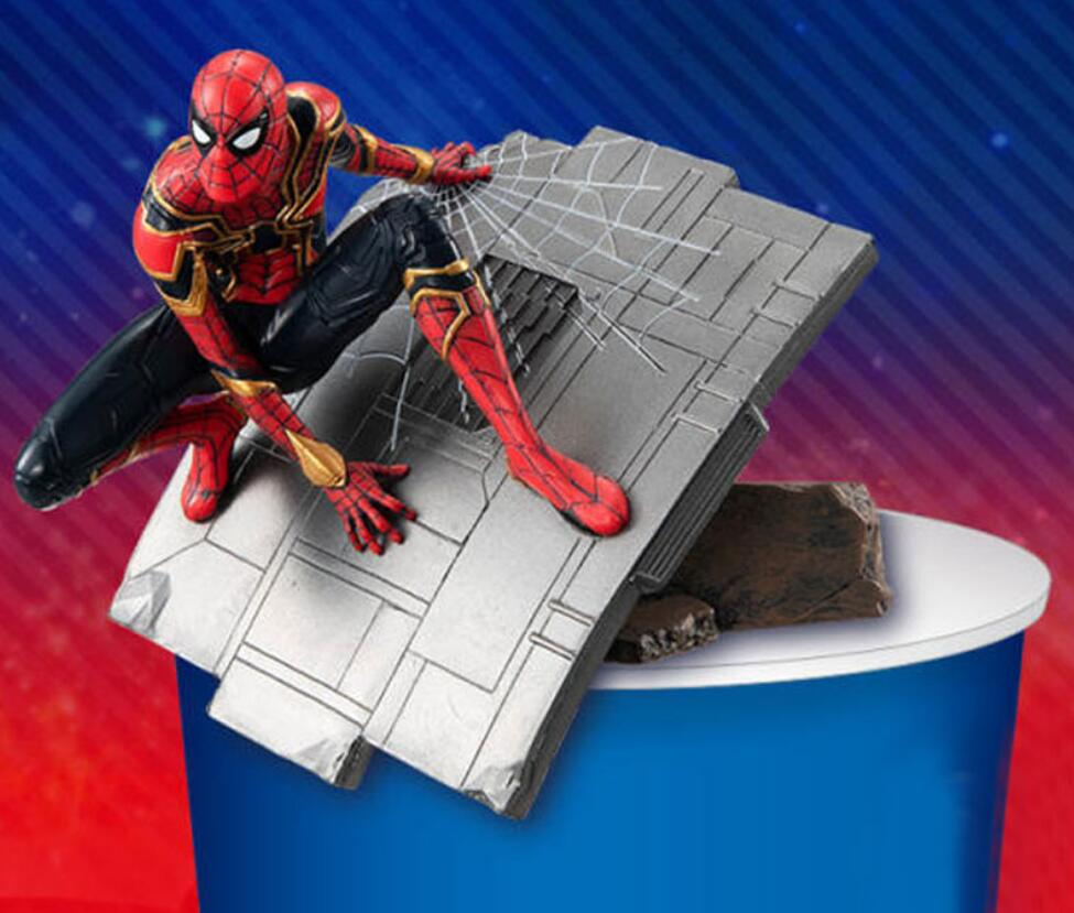 Japanese Anime Figure Original The Avanger Spiderman/Captain American/Iron Man Action Figure Collectible Model Toys For Boys