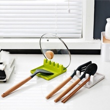 Shelf Tableware-Holder Fork-Organizer Lid-Stand Spatula-Rack Chopsticks Kitchen Spoon