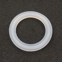 """Подходит для 51 мм трубы x 64 мм O/D санитарно """" Tri Clamp Ferrule силиконовая уплотнительная прокладка уплотнительное кольцо шайба для доморощенного молочного продукта"""
