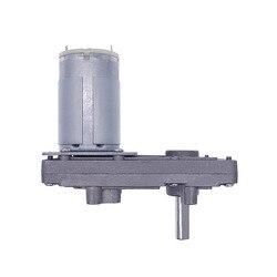 24V червь Шестерни двигатель 12В высокого качества редуктор 20-157 об/мин постоянного тока с высоким крутящим моментом металлический редукторны...