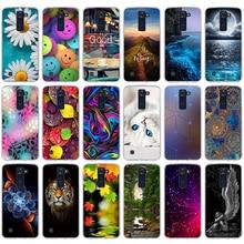 Phone Case For LG K8 K350N K350DS LTE K350E Escape 3 K373 Phoenix 2 Soft Silicone Back Cover Case For LG K7 K10 Leon Spirit Bags