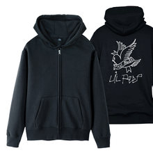 Куртка для мальчиков lil peep cry флисовая толстовка на молнии