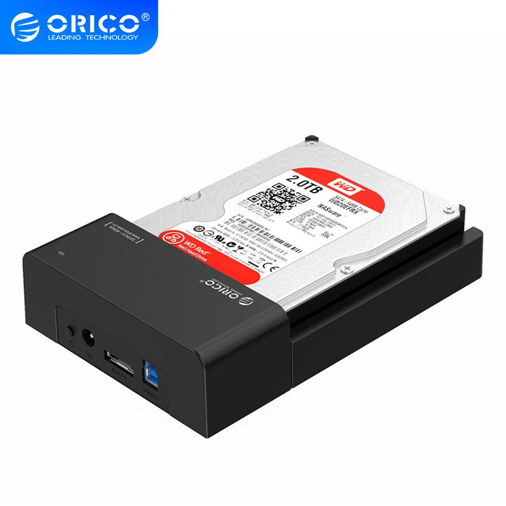 ORICO Tool-Free USB 3.0 Hdd Case eSATA to 2.5 3.5 Inch SATA External Hard Disk Drive Docking Station HDD SSD Enclosure Box Pakistan