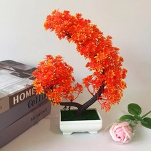 Artificial Fake Flower Potted Plant Bonsai Party Garden Home Decoration Supply
