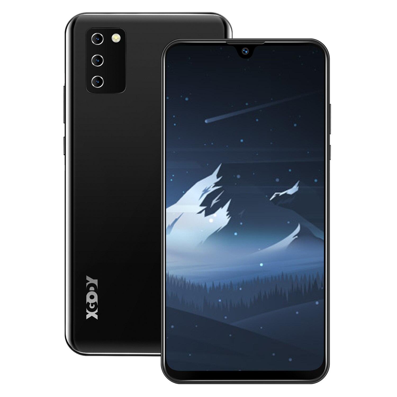 "XGODY NOTE 10 Android 9.0 4G mobile phones 2GB RAM 16GB ROM Face ID 5MP Camera Dual SIM GPS WIFI 7.2"" 19:9 smartphone Quad Core 4"