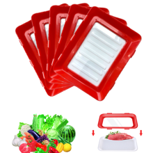 Zero-waste Stackable Creative Food Preservation Tray Fresh Handy Plastic For Kitchen Plateau De Conservation Clev